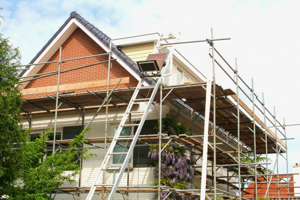 Repair Work at a Home