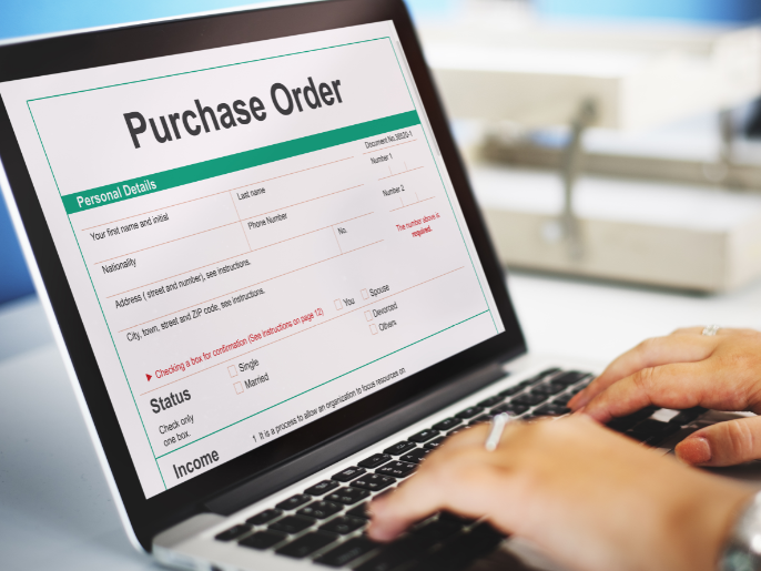 Paperless purchase order