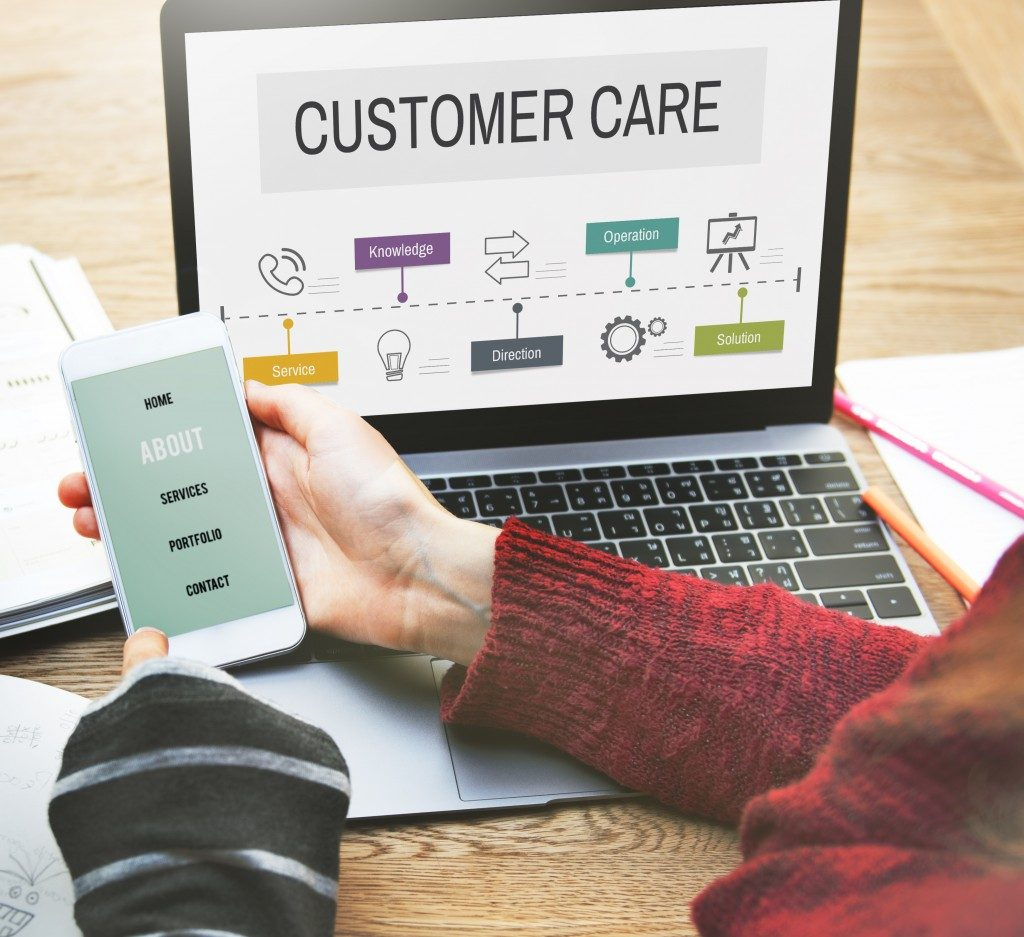 Customer care online