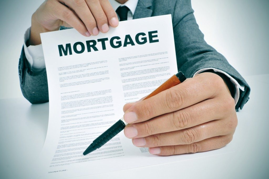 mortgage contract for signing