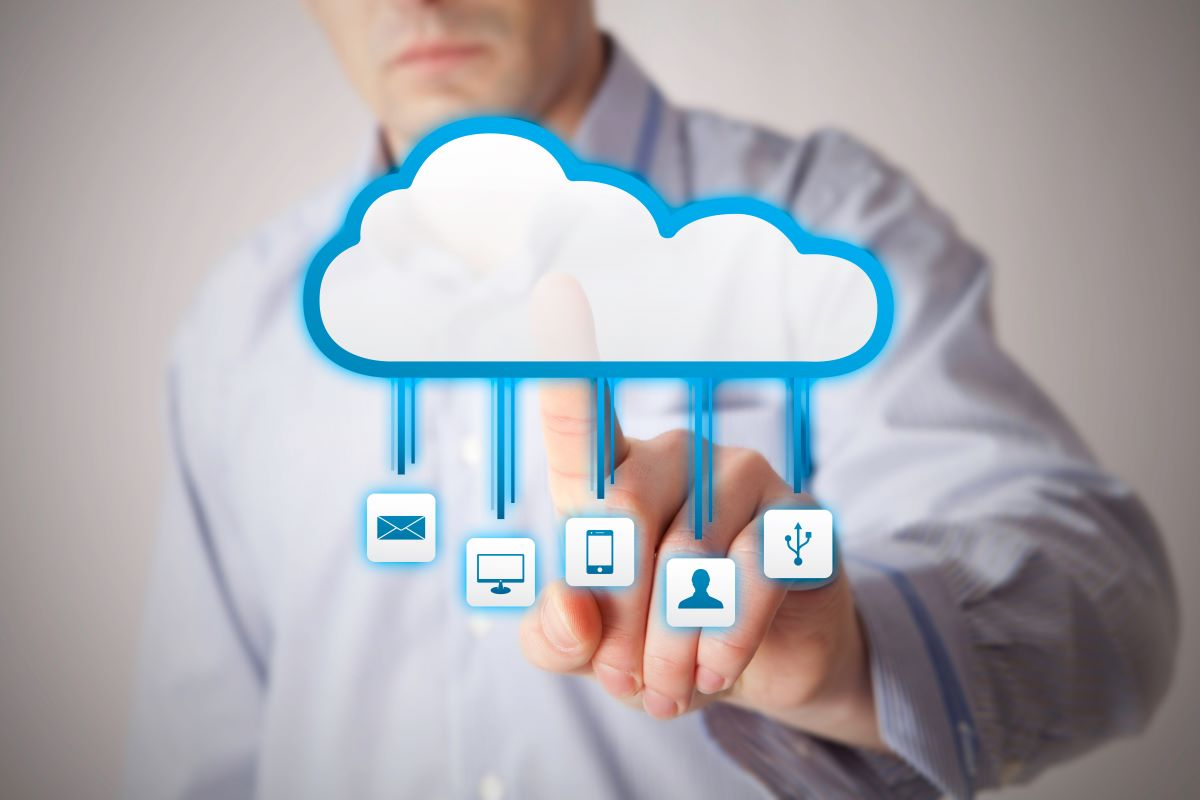 interacting with cloud software