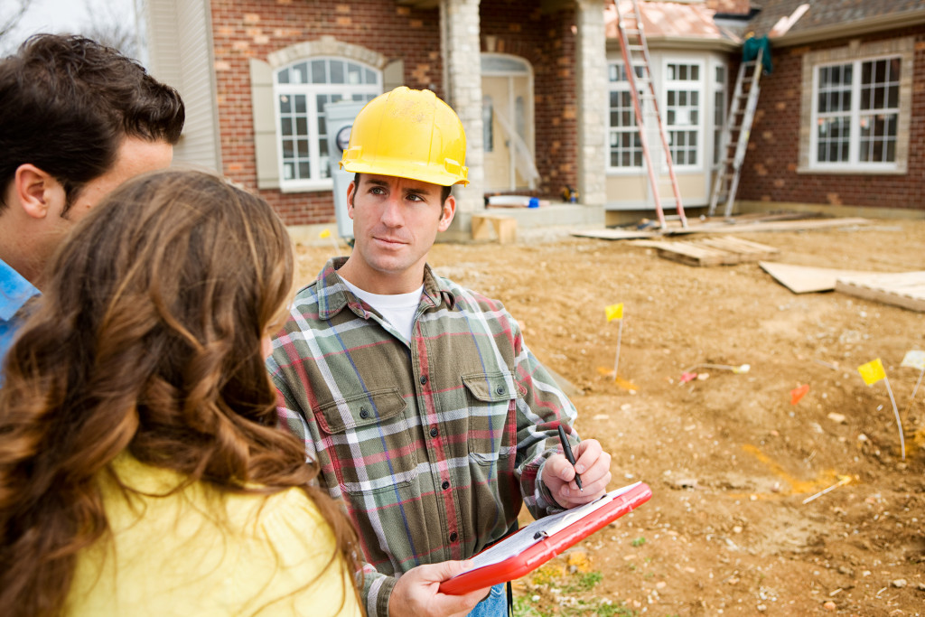home owners planning a renovation